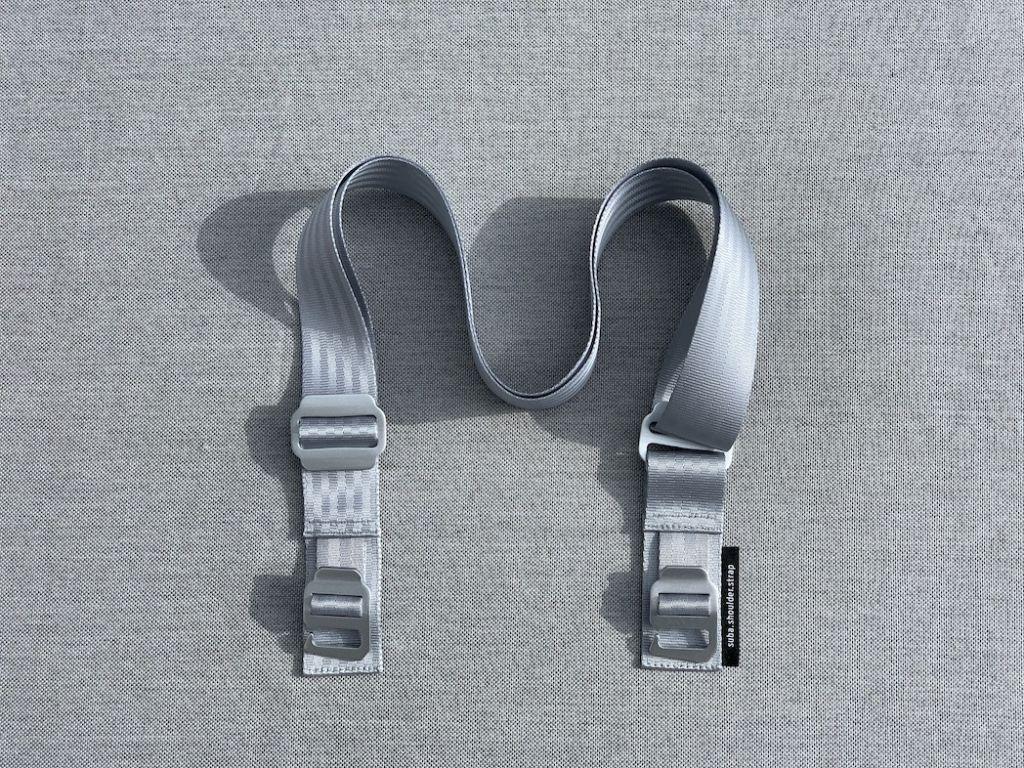 suba.shoulder.strap.silvergrey