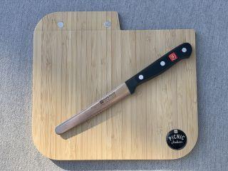 Das Messer ist der Koch
