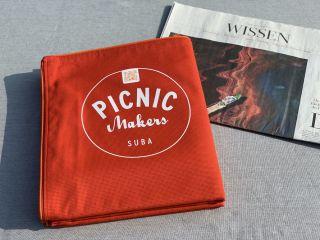 Die Picknickdecke für die Ewigkeit - mehr Nachhaltigkeit geht nicht!