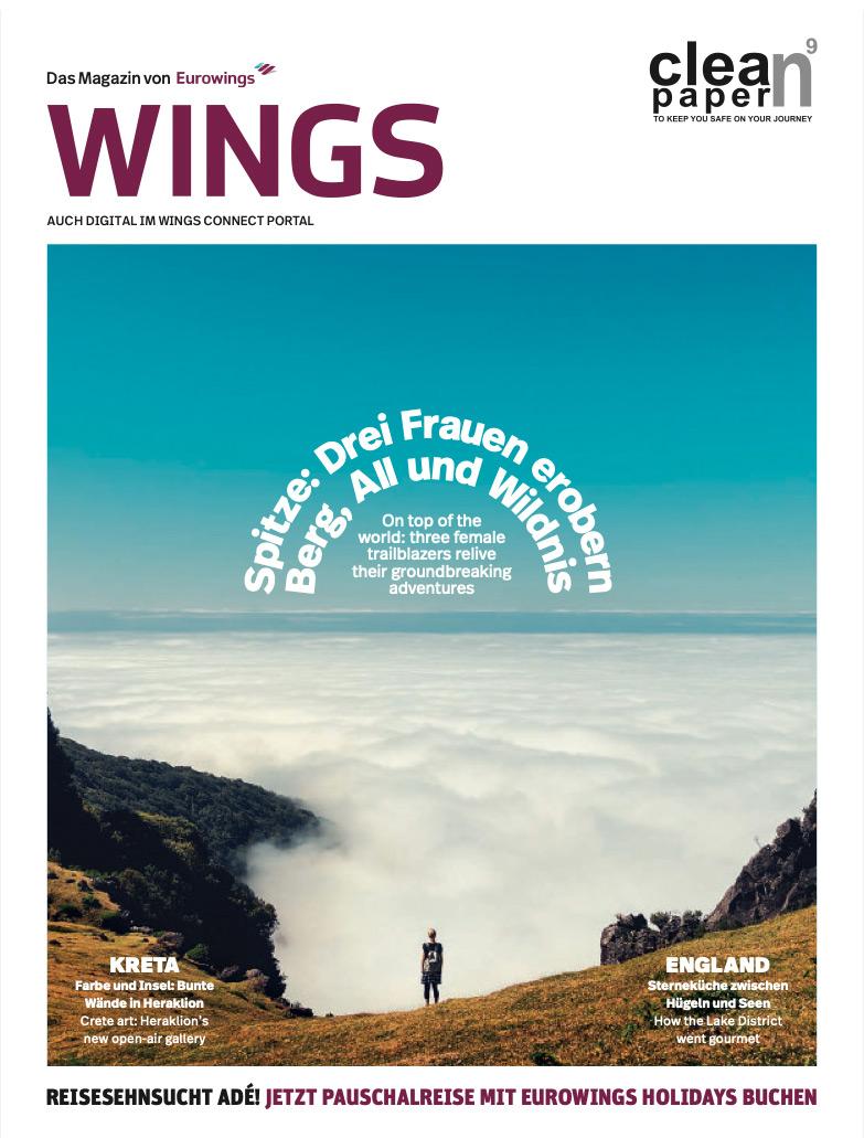 SUBA im Eurowings-Magazin