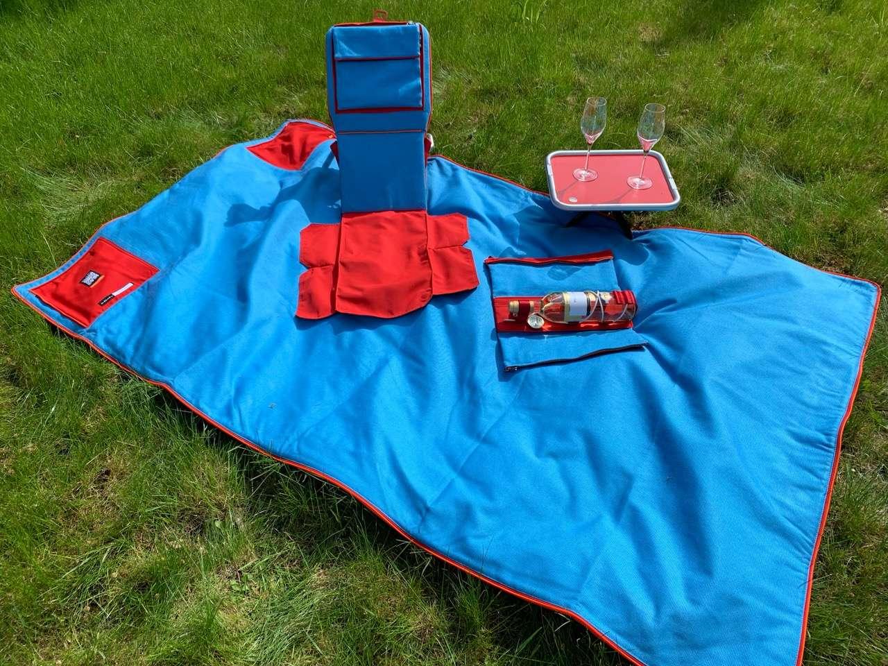 Suba Picnic-Makers Rückenlehne zum Anlehnen und Sitzen auf Picknickdecken